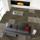 Sisily-1/12 alfombra interior Indicador de pila de bucle mosaico alfombra Jacquard con bitumen Back/W Paño Non-Woven grueso