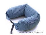 Viajar de partículas de látex natural de trabajo u proveedor chino de almohada de cuello almohada