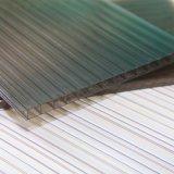 o PC plástico do policarbonato de 8mm Lowes apainela o preço oco da folha da telhadura