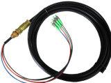 Núcleos impermeáveis da manutenção programada 4 do Pigtail do cabo da fibra óptica