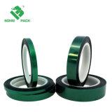 Puder-Beschichtung-Schutz-grünes Polyester-Haustier-Silikon-Hochtemperaturband