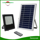 IP65 ao ar livre Waterproof o projector solar de controle remoto do poder superior