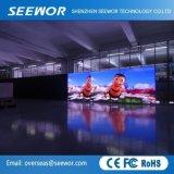 Kontrastreicher P2mm farbenreicher LED-Innenbildschirm mit dem 480*540mm Schrank