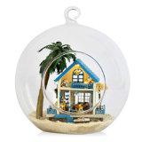 Bricolaje Cuteroom casa de muñecas en miniatura de regalo bola de cristal B-002