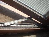 Un estilo moderno Akp55-AW04 de aluminio de apertura hacia afuera Casement Window