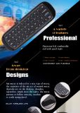 Новейшие W1 Air Fly мыши мини-клавиатура 10-15м 2.4G Bt беспроводной системой отслеживания движения