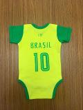 Ropa de bebé OEM de la Copa Mundial de 2018 Bebé Onesie