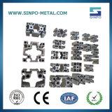 Perfil de alumínio extrudido industriais