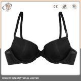 Nylonspandex-Schwarz-reizvoller Bikini grosses Größen-Büstenhalter-Cup