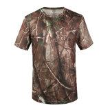 Les couleurs de camouflage Plaine de l'Escalade Sports de plein air Design Fashion Vêtements Logo personnalisé T-shirts
