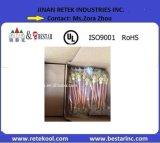 1/4 Pièces de réfrigération réfrigérateur congélateur Tube en cuivre Soupape de charge de la soupape d'accès