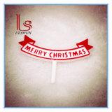 Decoratie van Kerstmis van Topper van de Cake van Kerstmis van de fabriek de In het groot Vrolijke