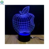 Lámpara de Sobremesa 3D con LED de alimentación USB Luz de noche