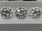 2 Diamanten der Karat-8mm Def Moissanite