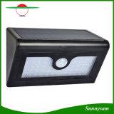 Led de 28/32Cambered Triángulo Largo Alto Lumen 400lm inteligentes PIR Jardín Lámpara Solar Powered seguridad