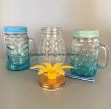 透過Colored 20oz 24oz Glass Mason Jar Wholesale 500ml