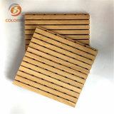 Facile à la poussière de bois Bois panneau acoustique