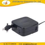 1,5 м выдвигаемая длина прочного Wall-Mounted рекламных втягивающийся кабель USB мотовила