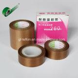 Os fabricantes directa, Fita de Teflon de Alta Temperatura de Fita Marrom 260 ° C