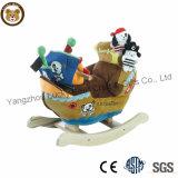Популярный Детский деревянный шикарные Rocking Horse с музыкой
