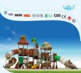 El Parque de Diversiones de plástico de buena calidad de los juegos de jardín al aire libre