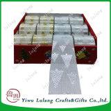 Фо постельное белье Рождество декоративная лента ячеистой сети для украшения дерева