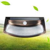La Sonrisa del sensor de movimiento la energía solar Powered LED Iluminación de pared Jardín