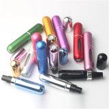 5 ml mini bouteilles rechargeables en aluminium vides voyage portable cosmétique de pulvérisation de parfum des conteneurs avec l'atomizer bocaux de maquillage 13 couleurs