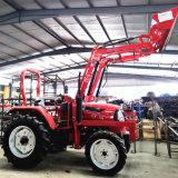 Chargeur frontal compact tracteur de ferme avec la CE