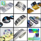 O logotipo personalizado autocolantes do número de PVC e auto-adesivo de papel de Vinil Adesivo a impressão a laser