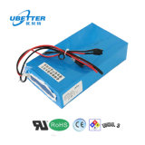 Bateria de iões de lítio 48 V 18650 18ah Bateria de iões de lítio