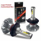 極度の明るい8000lm 9005 9006 9012 H11 H7の高い発電のヘッドライトH4のヘッド電球自動車LED