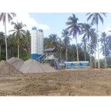 Planta de cemento de alta eficiencia para la venta 25-150m3 planta mezcladora de concreto