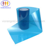 25µ/36µ/50µ/75µ/100µ/125um animal de estimação azul/vermelho do filme de proteção com adesivo acrílico para proteger a tela do computador