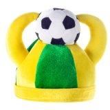 各国用のロゴのワールドカップFootbalはプラシ天党帽子を遊ばす