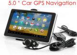 주춤함 GPS 항해자, 핸즈프리, 후방 사진기, ISDB-T 텔레비젼, 지도, FM Transmitt를 추적하는 새로운 GPS를 주차하는 대시를 위한 Avin를 위한 Bluetooth와 가진 5.0 인치 차 트럭 GPS 항법