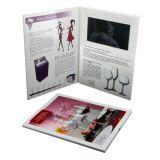 Video catalogo dell'azienda con lo schermo dell'affissione a cristalli liquidi 5inch