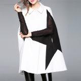 Рубашечный воротник Star печать Кабо-стиле моды зимой слой