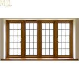 Revestimiento de madera aluminio doble acristalamiento Casement Window
