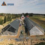 Design moderno da camada de Estrutura de aço Prefab Avícola Casa Frango Galpão para frangos 10000
