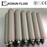 Gesinterde Filters van de Steen van de Carbonatie van het Poeder van het Netwerk van de Draad van het Titanium van het roestvrij staal de Poreuze Metaal