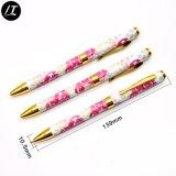 Penne di sfera personalizzate del metallo di Short del corpo di scambio di calore della penna (LT-E095)