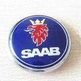 delen 9-3, de Vastgestelde Rug van de Auto van het Embleem van het Kenteken Saab van 68mm Blauwe van Laars 9-5 & het VoorEmbleem van de Bonnet