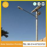 Resistente al agua LED Sensor de movimiento Luz solar calle