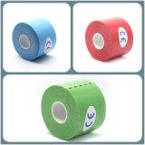 95%の綿+ 5%のスパンデックスの最もよい引用語句の中国の製造者の堅いスポーツのKinesiologyテープ