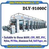 Machine van de Druk van de Rotogravure van de hoge snelheid de Automatische Geautomatiseerde voor Film (dly-91000C)