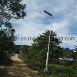 80W移動式APPのインテリジェント制御を用いる新しい太陽街灯