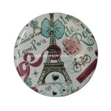 Promotionnel France Logo One Side Pocket Mirror Wholesale