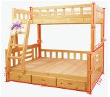[سليد ووود] [بونك بد] مزح [بونك بد] بسيطة سرير ([م-إكس1033])