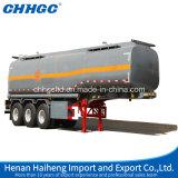Reboque líquido do tanque do transporte do petróleo elevado de Quanlity ou do ácido sulfúrico